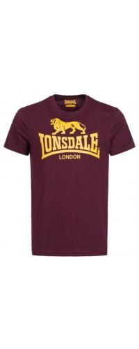 T-shirt Lonsdale LOGO Oxblood