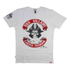 T-shirt Yakuza Premium Bad Villains  White