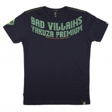 T-shirt Yakuza  Bad Villains  Navy