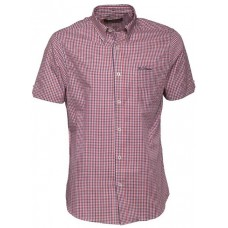 short sleeve Shirt  Ben Sherman button down light Red